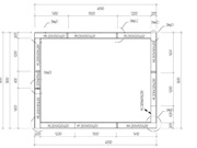 Extension de 15m² - plan